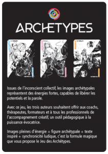 Le Jeu des Archetypes Recto Gilles Dufour